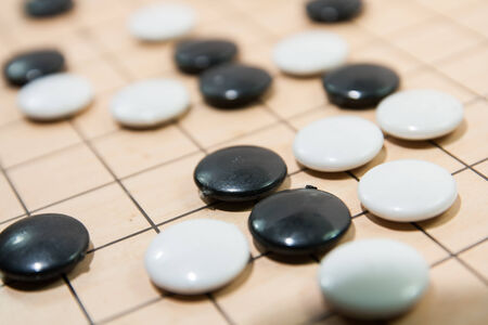 Go game board
