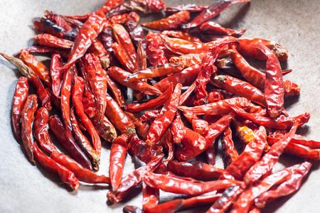 red skinned: fried red pepper