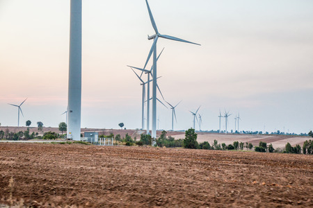 energy production: Windmills for renewable electric energy production in thailand.