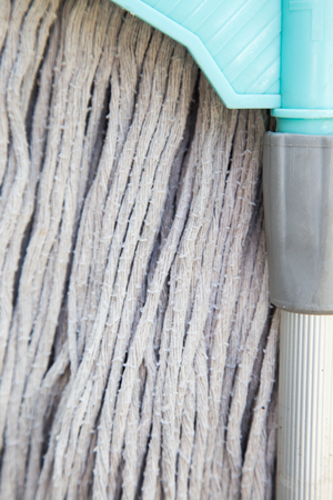 cleaness: Mop on the wall
