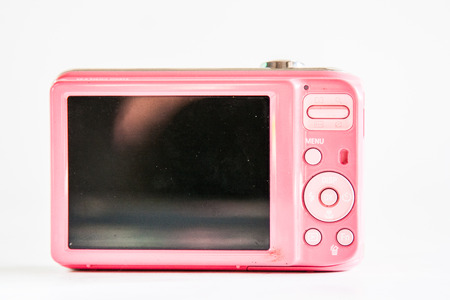digital camera: digital camera is a pink.