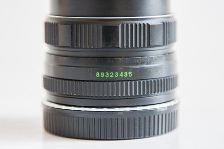 autofocus: Black camera lens