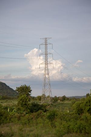 conductive: electric post