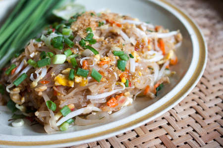 Chicken  noodle food