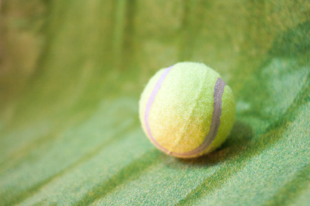 ball for tennis game. Stock Photo