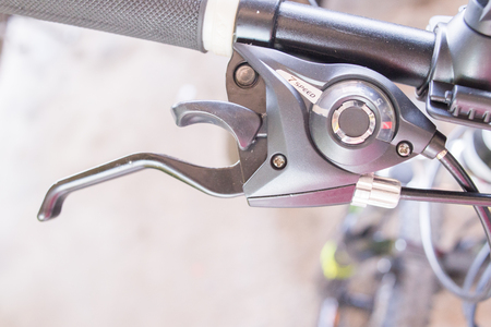 Gear handle bicycle