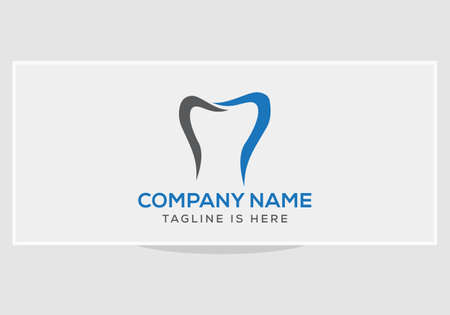 Dental Clinic logo template, Dental Care logo designs vector, Health Dent Logo 矢量图像