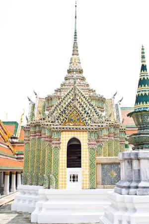 The Pavillian inside Wat Phar Kaew photo