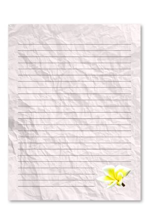 frowzy: Letter paper Stock Photo