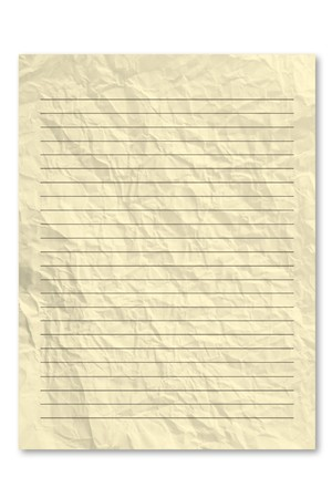 frowzy: Yellow note paper Stock Photo