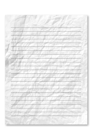 frowzy: White note paper