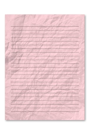 frowzy: Pink note paper