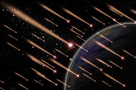 Meteor shower  photo
