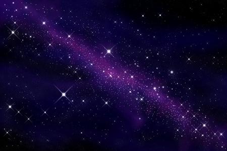 Space and stars  Standard-Bild
