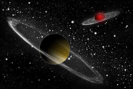 Giant gas planet Reklamní fotografie - 8333646