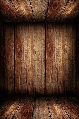 rustic: Wooden room