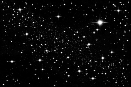 night sky and stars: Star in the sky Stock Photo
