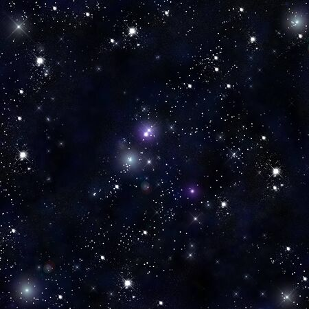 Stars in the space Stock Photo - 8418298