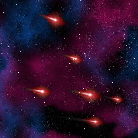 dearth: Comet in the galaxy