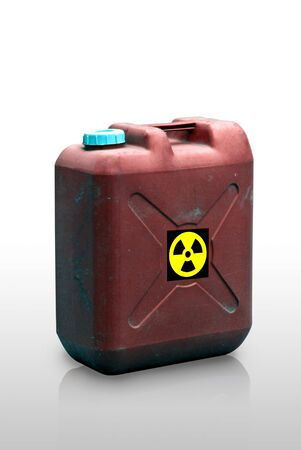 Radiation liquid tank on white background, Isolated Stock Photo - 10030018