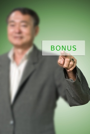 Boss give the bonus, Bonus concept photo