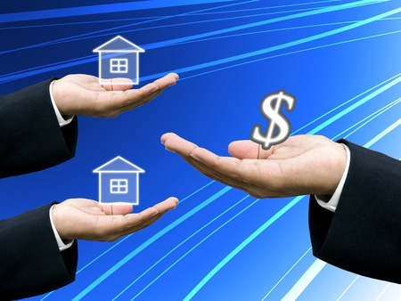 businees: Builders offer the house project to investor, Investment concept