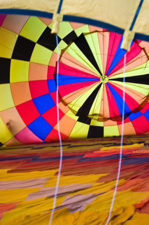 Inside balloon background photo