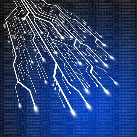 chip: Placa de circuito, fondo de tecnolog�a