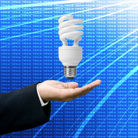 Get ideas for business, Idea bulb concept Stock Photo - 11870664