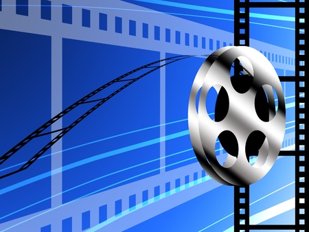 Film technology concept, Abstract background photo