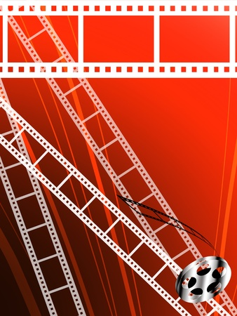 Film strip abstract background, Film technology background photo