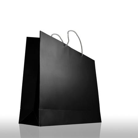 tool bag: Glaze shopping bag isolated on white background
