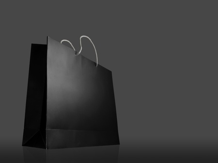 tool bag: Glaze shopping bag on black background
