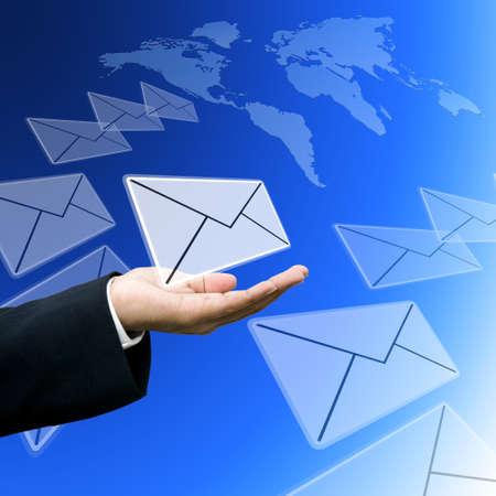 tele communication: Logistics business concept