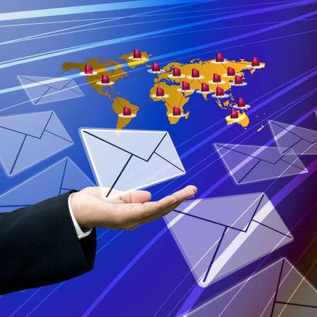 tele communication: Logistics business to around the world