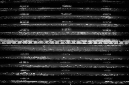 detain: Grunge metal wall background, Detain concept