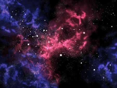 orion: Orion in the universe with star background, Space concept