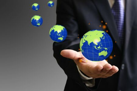 ownership and control: Global investment funds have powerful Stock Photo