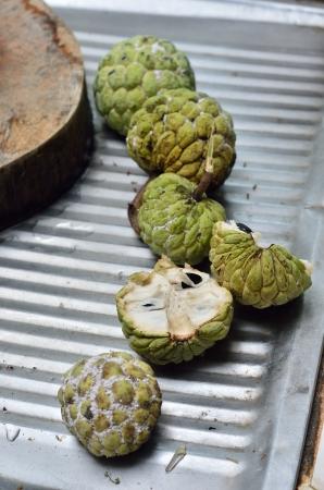 chirimoya: Chirimoya en la cocina urbana, Tailandia