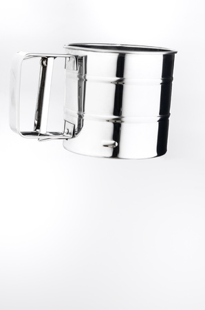 sifter: Sifter isolated on white background