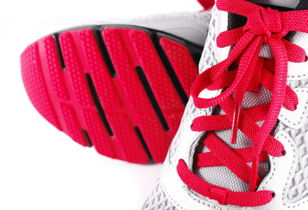 Sport cipő, elszigetelt, fehér