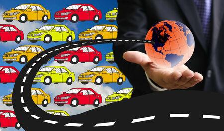 demanding: World demanding for new car concept, Car industrial
