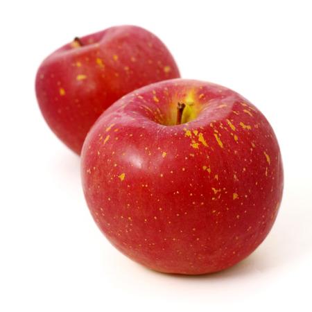 Fresh Japanese apple isolated on white background