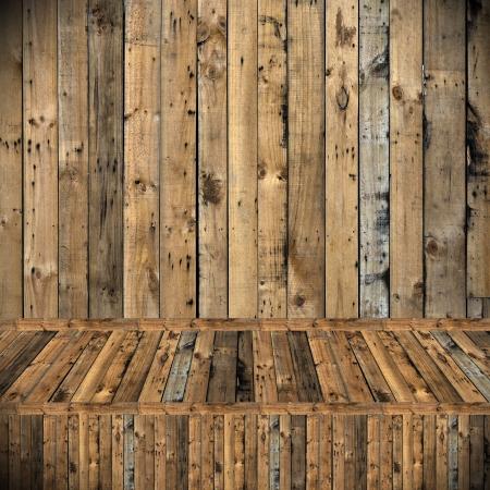 Wooden texture background, Room interior decorate photo