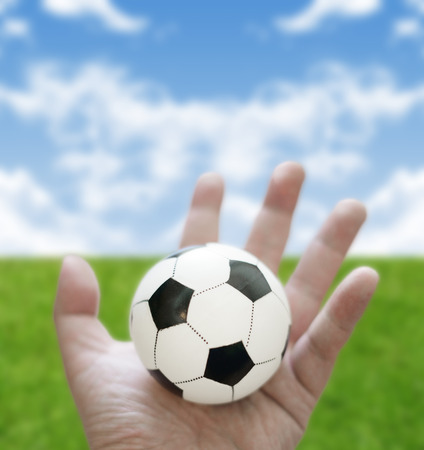 let s: Let s play football concept