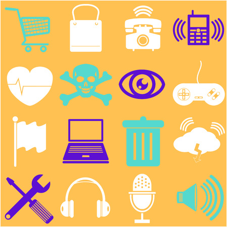 App icon set icons  Vector