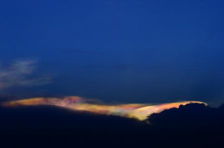 Rainbow Clouds, Irisation photo