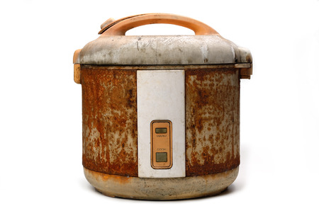 rice cooker: Rice Cooker in Grunge condition