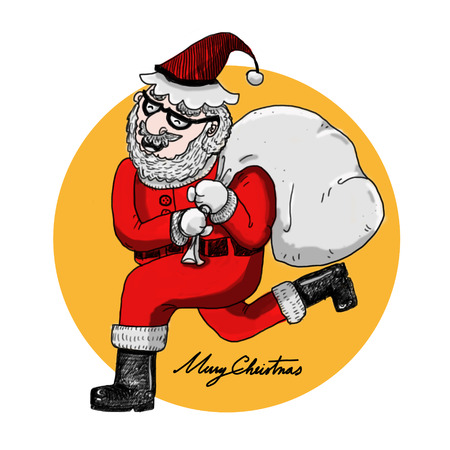 Santa claus illustration illustration
