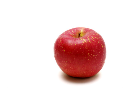 白い背景に分離された新鮮なリンゴ 写真素材